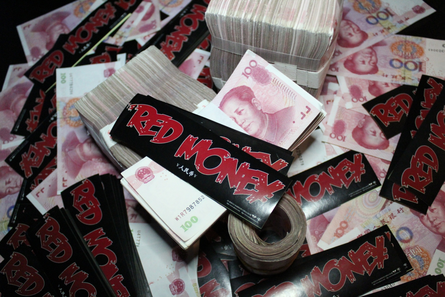 RMB人民币 Red Money by AL ROCCO